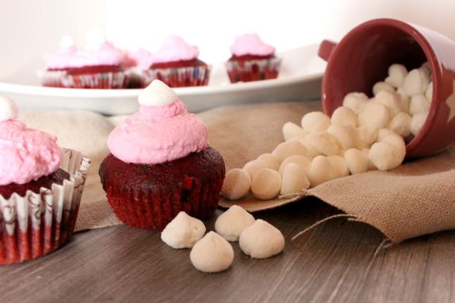 muffin pink alla rapa