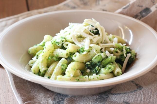 pasta con broccoli e ricotta salata