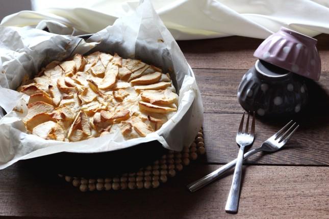 torta di mele veg senza latte e zucchero