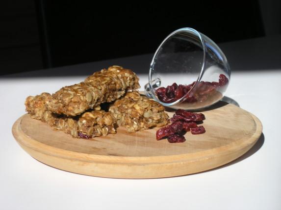 barrette di cereali e frutti rossi