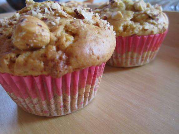 muffin con acero e ciocc bianco