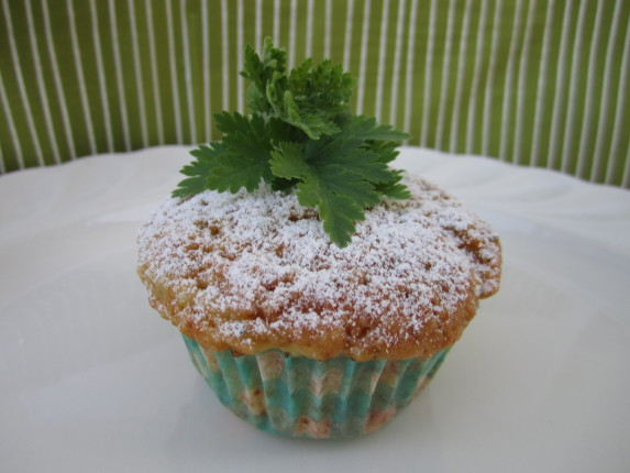 muffin yogurt e erba madre