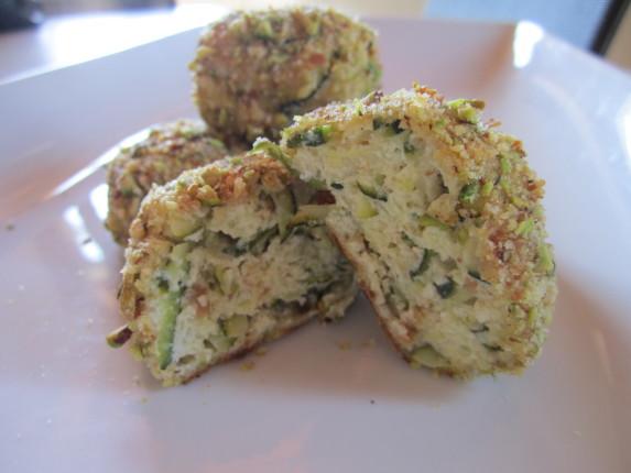 crocchette di ricotta e zucchine ai pistacchi (7)