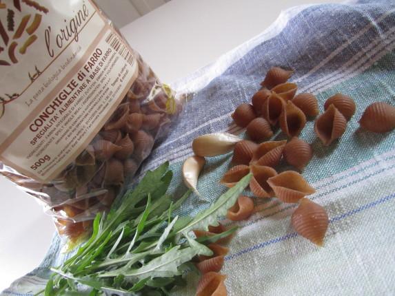 conchiglie di farro rucola e briciole (4)