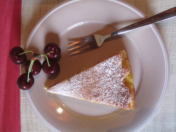 torta cremosa ciliegie e ricotta (4)