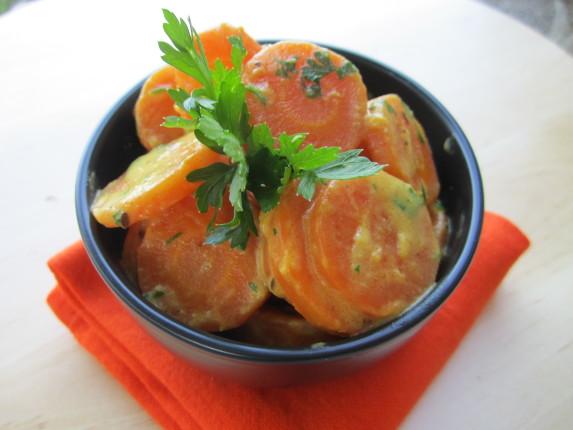 carote speziate al latte di cocco