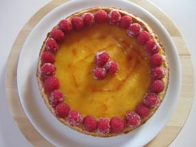 crostata crema cotta ananas e lamponi (2)