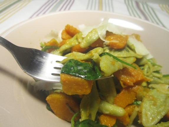 foglie d'ulivo con zucca cacio (6)