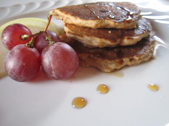 pancakes mele e avena