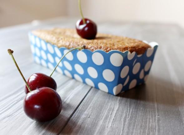 plum cake ciliegie