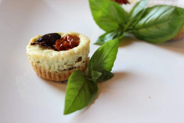 mini cheese cake salate