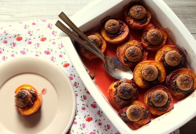 pesche al forno con amaretti (13)