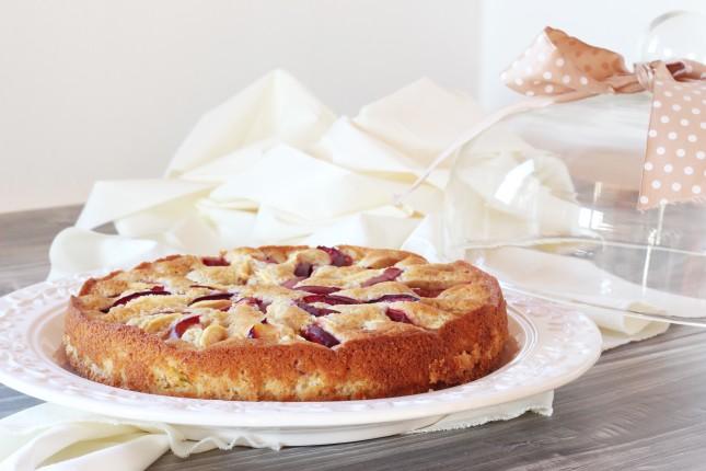 torta con mele e susine