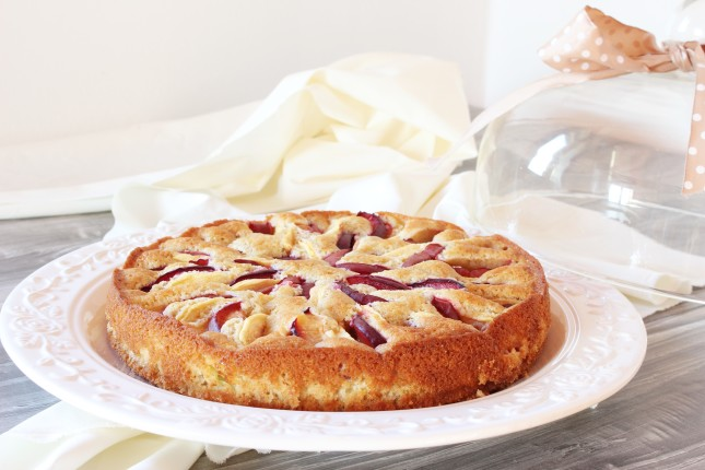 torta con mele e susine (3)