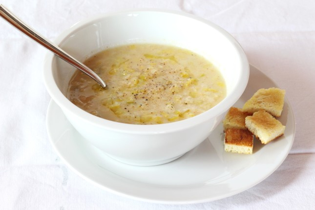 zuppa di porri e pane (2)