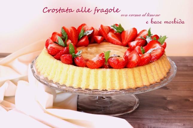 base morbida con fragole (4)