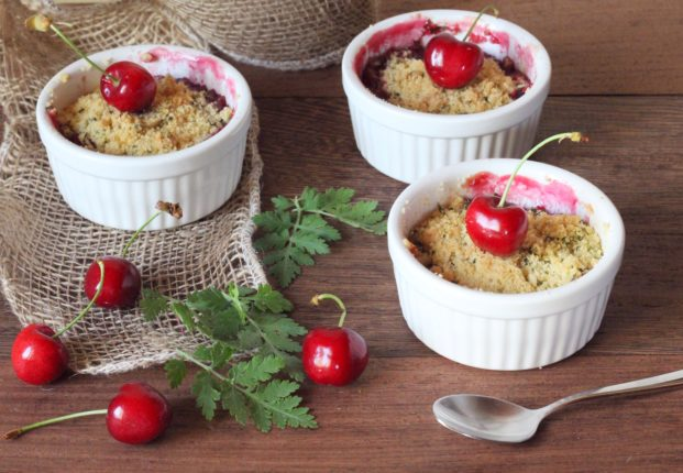crumble alle ciliegie (3)