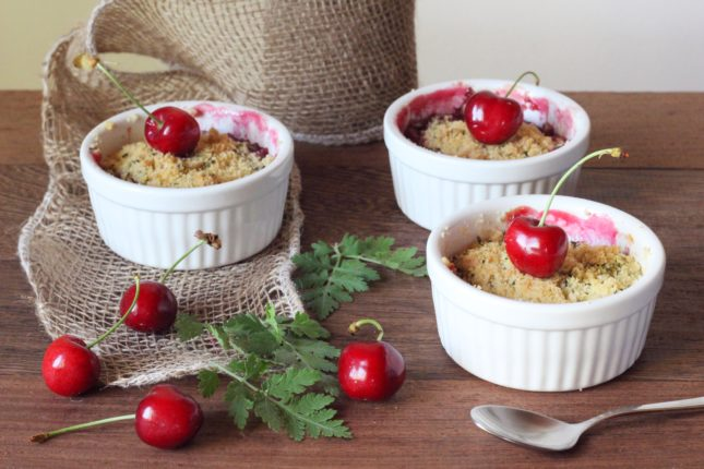 crumble alle ciliegie (4)
