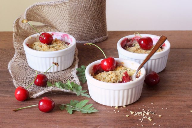 crumble alle ciliegie (9)