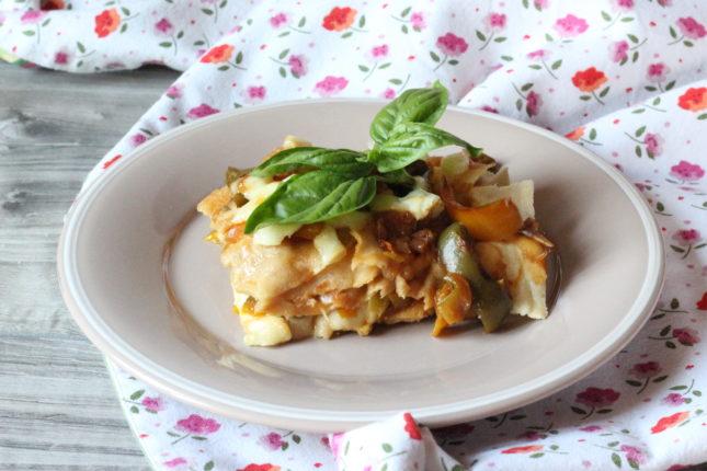 lasagna di panecarasau con bufala e peperoni (2)
