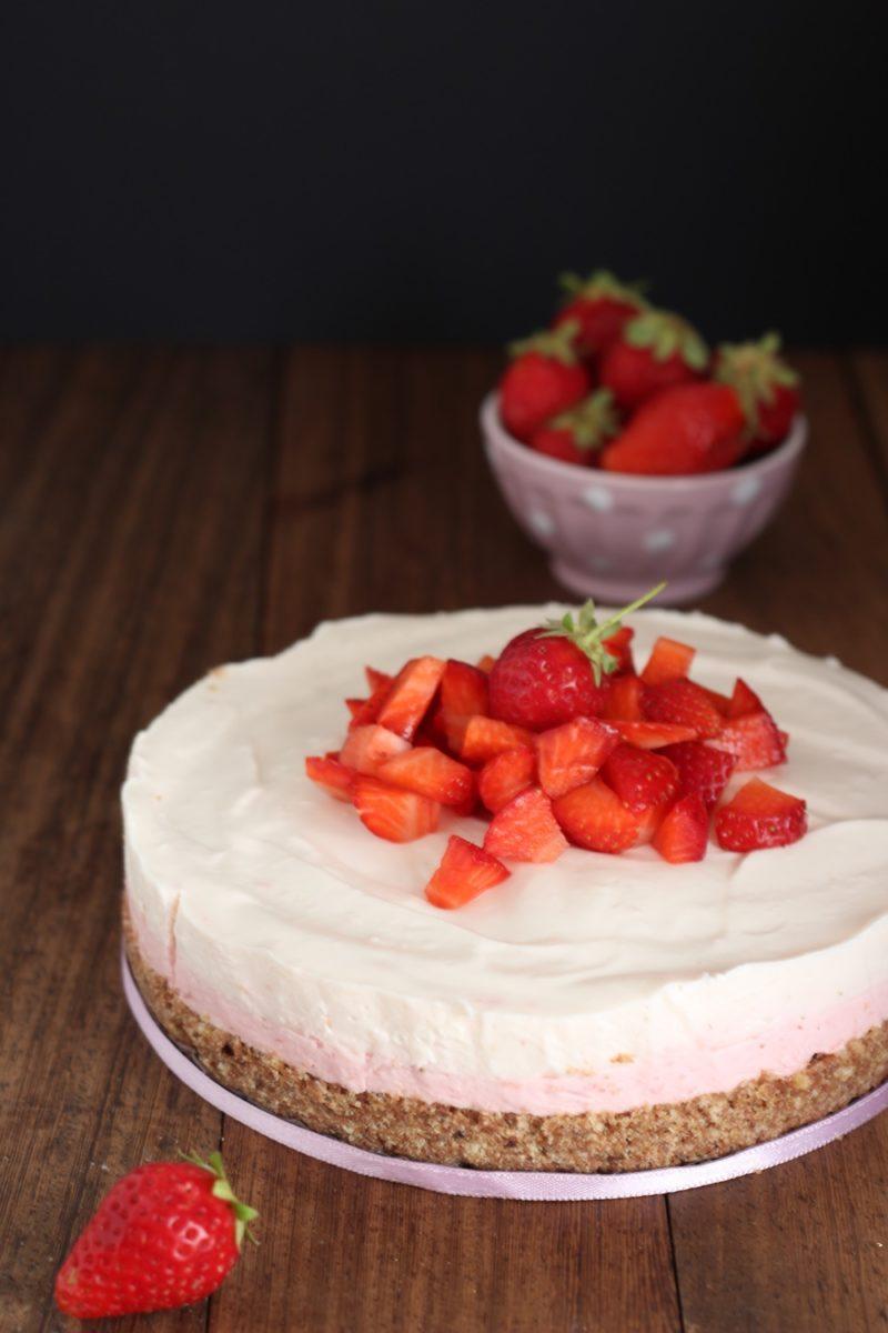 Cheesecake Alle Fragole E Yogurt Il Pomodorino Confit