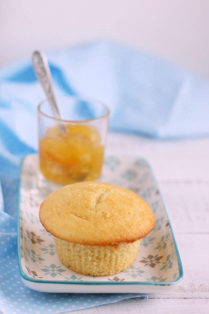 muffin panna e marmellata
