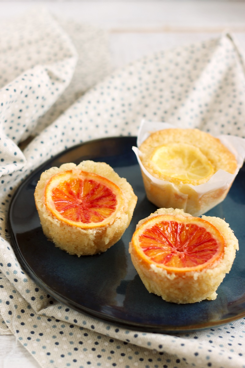 tortine semolino arancia e limone
